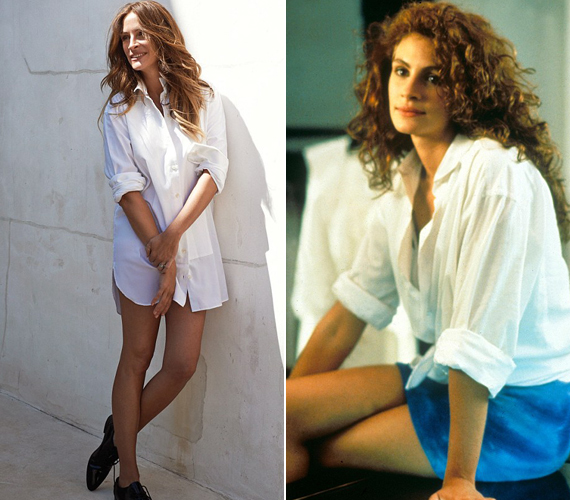 23 év telt el a Pretty Woman bemutatása óta, ám a színésznő mintha semmit sem változott volna.
