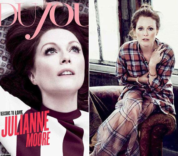 A DuJour magazinnak fotózás közben adott interjújában azt mondta, az idősödő színésznőkre is remek szerepek várnak. A díjesőt elnézve nem tévedett.