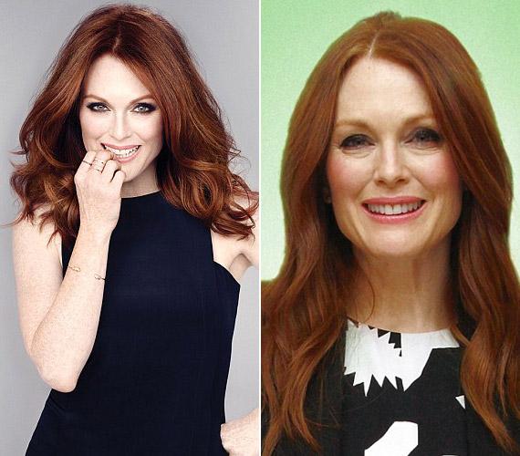 Szeptember végén a New Beauty Magazine számára állt modellt, képeit pedig jócskán photoshopolták, pedig a színésznő nem szégyelli a ráncait.