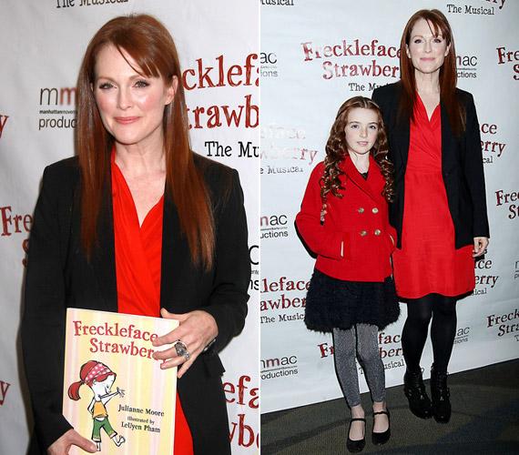 2007 októberében jelent meg az 51 éves sztár Freckleface Strawberry című könyve, amely saját gyermekkori tapasztalatain alapszik.