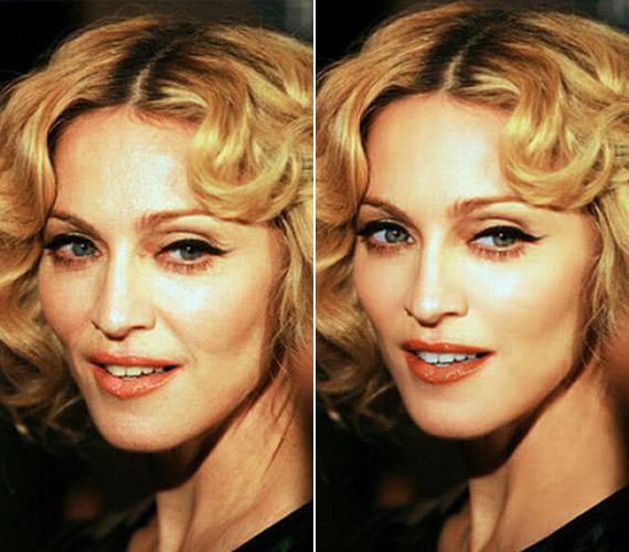 Madonna annyiban kakukktojás a felsorolásban, hogy ő valóban nincs kibékülve az idő múlásával.