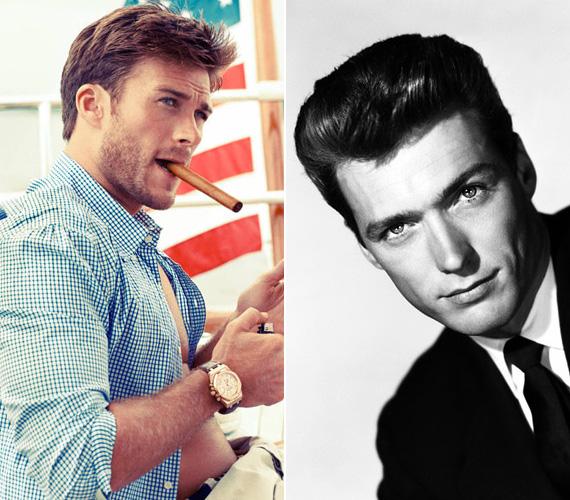 Clint Eastwood fia, az 1986-ban született Scott is elképesztően hasonlít híres édesapjára, bár a színészi tehetségét illetően egyelőre nem nagyon ismeri még a mozilátogató közönség. 20 éves kora óta bukkan fel filmekben, a nézők láthatták a Gran Torinóban - ezt apja rendezte, és a főszerepet is ő játszotta -, illetve a Brad Pitt nevével fémjelzett Harag című háborús filmben is látható volt Miles szerepében.