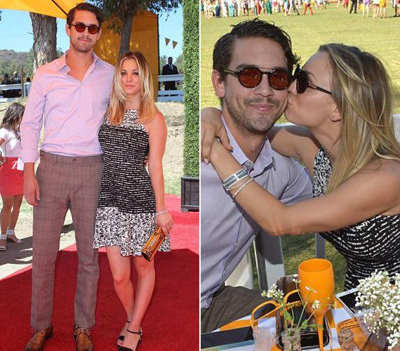 Párjával, a profi teniszezővel dúl köztük a szerelem, elmondásuk szerint őket egymásnak teremtette a sors.