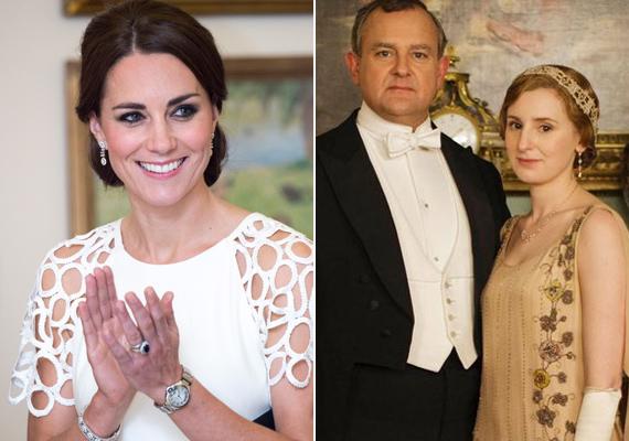Katalin hercegné az egyik legnépszerűbb kosztümös drámáért, a Downton Abbey-ért rajong. Annyira megkedvelte a sorozatot, hogy még a forgatásra is ellátogatott.
