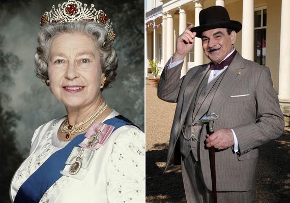 Erzsébet királynő a legnagyobb sorozatrajongó: ő számos szériáért van oda. Kedvencei közé tartozik az Agatha Christie könyveiből készült Poirot, a Trónok harca - aminek még a forgatására is ellátogatott -, és szintén nagy kedvence a Downton Abbey, sőt, hivatalos Downton-szakértőnek tartja magát.