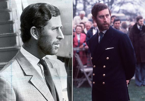 Akkoriban még nem létezett a favágószexuális irányvonal, de fiához, Harry herceghez hasonlóan Károlynak is igazán jól állt a szakáll.