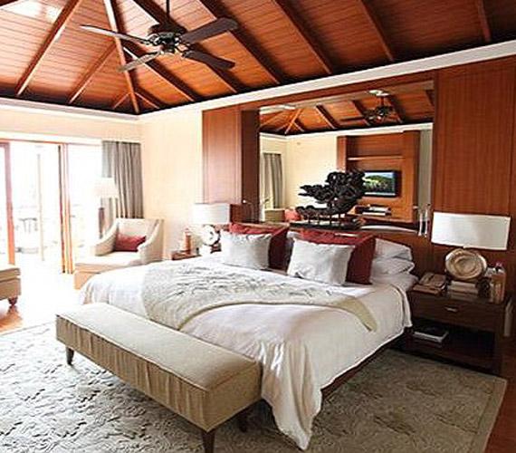 A pár a világ egyik legkülönlegesebb szállodájában pihenhetett.