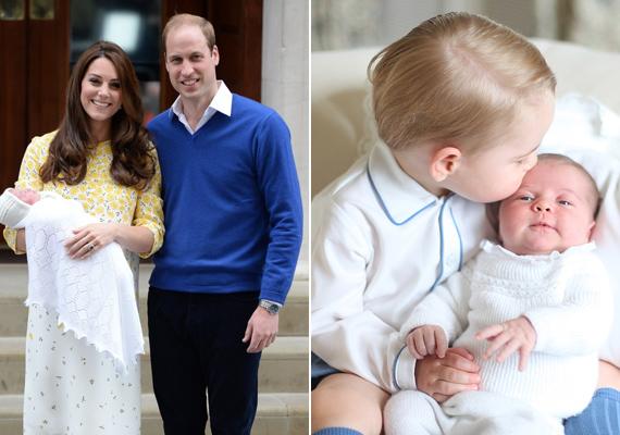 Katalin kijelentette, hogy semmi szín alatt nem hajlandó még jó ideig ruhácskákba öltöztetni Charlotte-ot:                         - Amíg csak ide-oda kúszik, addig egyrészes babaruhákat adok rá. Ha megtanul járni, akkor jöhetnek a kislányos darabok - nyilatkozta a hercegnő.