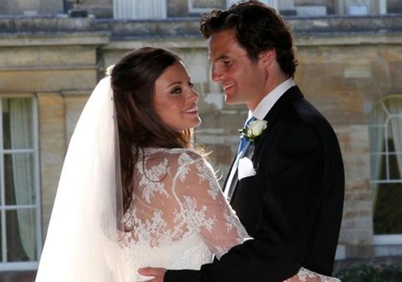 Natasha és Rupert 2013-ban házasodtak össze, idén pedig megszületett első gyermekük, Georgia Liberty Adrena.