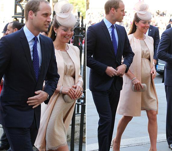 Az alattvalók szerint a hercegné pocakja még bőven nőhet, egy héttel ezelőtt még nem úgy nézett ki, mint egy átlagos 8. hónapban lévő nőé.