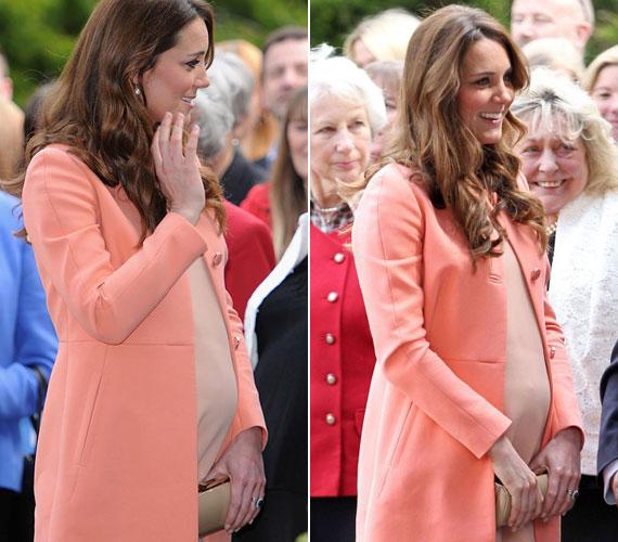 Hétfőn, esküvője kétéves évfordulóján barackban nyűgözte le a közönséget, amikor ugyancsak Hampshire-ben meglátogatta a Naomi House Children's Hospice-t.