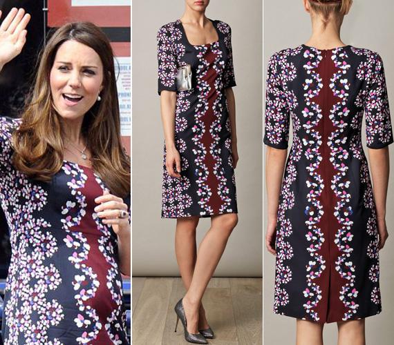 Az Erdem divatház nem éppen olcsó, több mint ezer fontba kerülő, Sophia Visconti-bloom nevet viselő selyemruhája iránt rögtön megnőtt a kereslet, miután Kate Middleton magára öltött egy ilyen darabot.