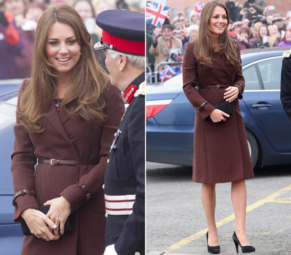Február közepén egy liverpooli látogatása alkalmával a Hobbs egy barna kabátja mellett döntött.