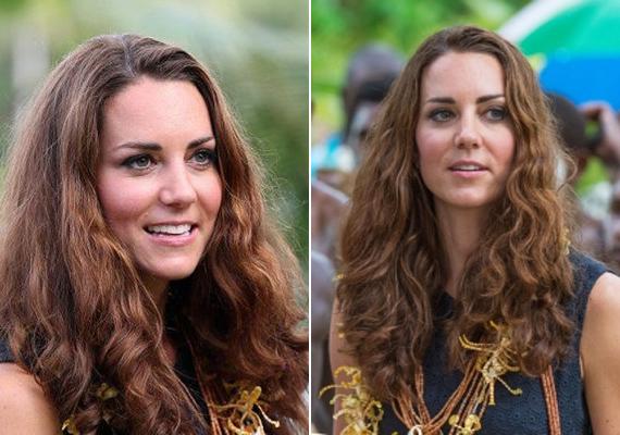 2012-ben a Salamon-szigeteken járt Katalin és Vilmos. Sokan úgy vélték, hogy a hercegné nagyon dögös természetes hullámaival, de férje szerint borzasztóan állt neki ez a haj.