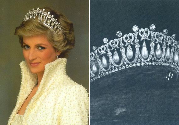 Diana fejdíszét a mintája miatt úgy nevezik, hogy Szerelmes csomók. Vilmos herceg minden bizonnyal nagyon örülne, ha ezzel állítana emléket édesanyjának.