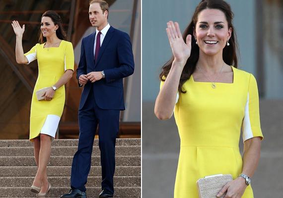 Amikor a sydney-i Operaházba látogattak el 2014-ben, Katalin egy élénksárga színű ruhát vett fel. Vilmos herceg nagyon leszólta, azt mondta, úgy néz ki, mint egy banán.