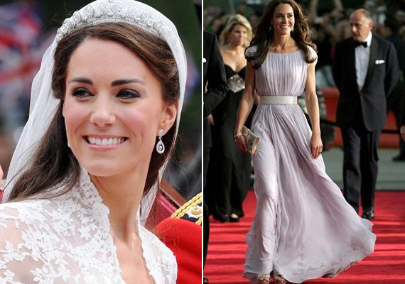 Kedvencünk, Katalin csak a harmadik helyet kapta a listán. Habár az előtte végzettek is gyönyörűek, a mi szívünk azért mindig az angol hercegnő felé fog húzni.