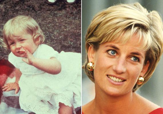 A 36 évesen autóbalesetben elhunyt szépséges Diana hercegnő már kisbabának is nagyon bájos volt.