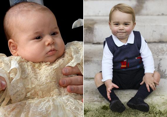 Vilmos és Katalin első gyermeke, a kis György herceg júliusban lesz kétéves. Már ennyi idő alatt is nagyot változott.