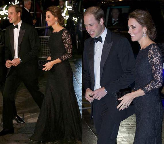 A hercegnő igen kedveli Diane von Furstenberg egyik csipkeruháját, ugyanezt vette fel az esküvőre.