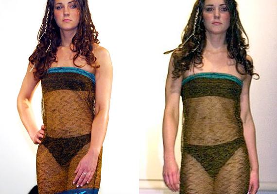 Egyetemi divatbemutatós ruhája sem maradhat ki a sorból, amivel Vilmost ugyan megfogta, de divatszempontból nem igazán értékelhető.