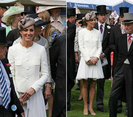 2011 júniusában az Epsom Derby alkalmával is hófehérben tündökölt Vilmos herceg oldalán.
