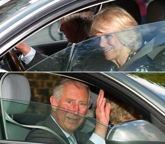 Károly herceg láthatóan boldogan mosolygott a tömegnek, miután másfél órát töltött a picivel a Kensington-palotában vasárnap. Vilmos herceg édesapja korábban már elismerte, a 21 hónapos György herceg után most egy kislány unokának örülne a legjobban.