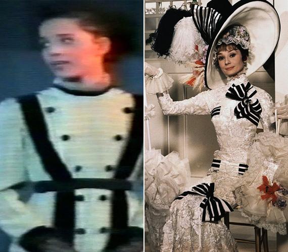 A hercegnő sokban hasonlít nagy elődjéhez, Audrey Hepburnhöz.