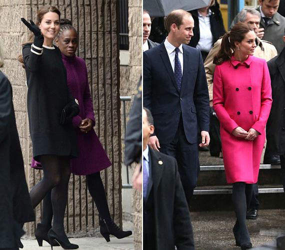 Tavaly decemberben az Egyesült Államokba látogatott férjével, ahol többféle csinos kabátban is láthatták a New York-i járókelők.