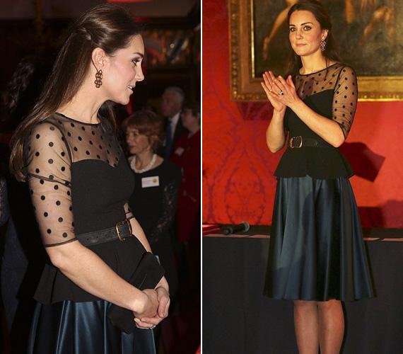 November 19-én aKensington-palotában adott jótékonysági estet.