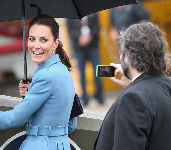 Peter Jackson egyelőre nem töltötte fel közösségi oldalaira a képet, amit a hercegnőről készített.