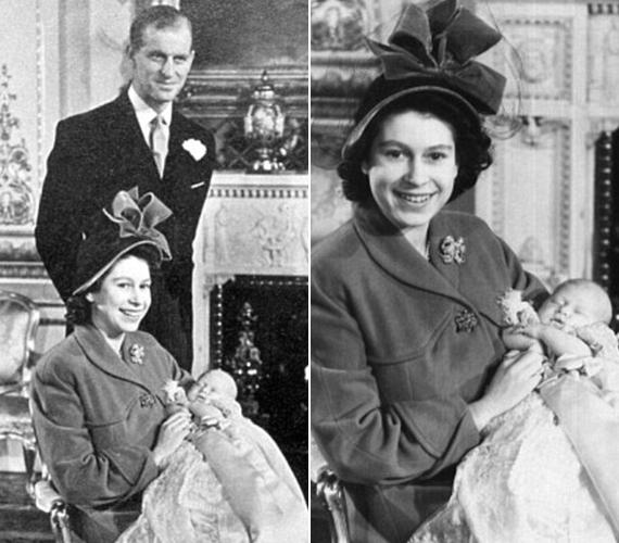 Károly herceg keresztelője a palota zenetermében volt.
