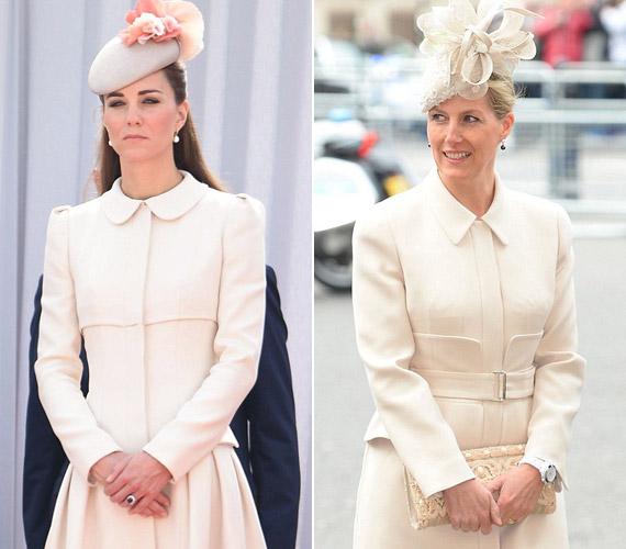 Kabátok terén is hasonló az ízlésük, mindkettenAlexander McQueen alkotásait hordják.