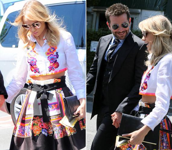 Bradley Cooper szakított a hagyományokkal, és most nem Gerard Butler társaságában ment a teniszmérkőzésre, hanem barátnőjével,Suki Waterhouse-zal.