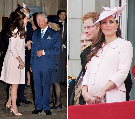 A két nappal ezelőtt, a nemzetközösségi nap alkalmából viselt pink Alexander McQueen kabát sem új szerzemény, szintén két éve nyáron, a Trooping the Colour júniusi rendezvényén volt rajta.