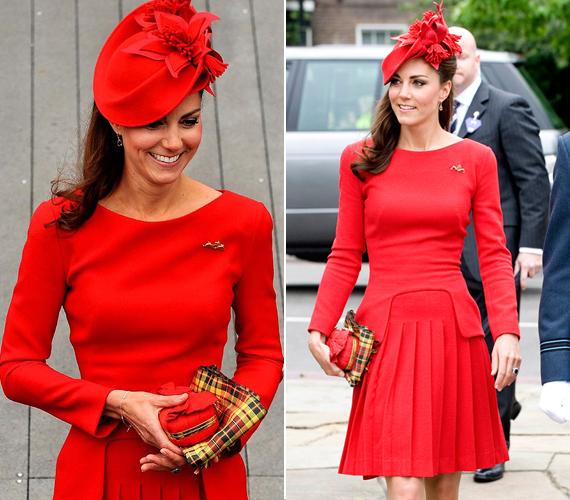 2012-ben, Erzsébet királynő gyémántjubileumának ünnepségén Katalin hercegnő ismét tűzpiros ruhába bújt, amely fantasztikusan állt neki. Ezt a darabot azóta is sokan keresik az üzletekben.