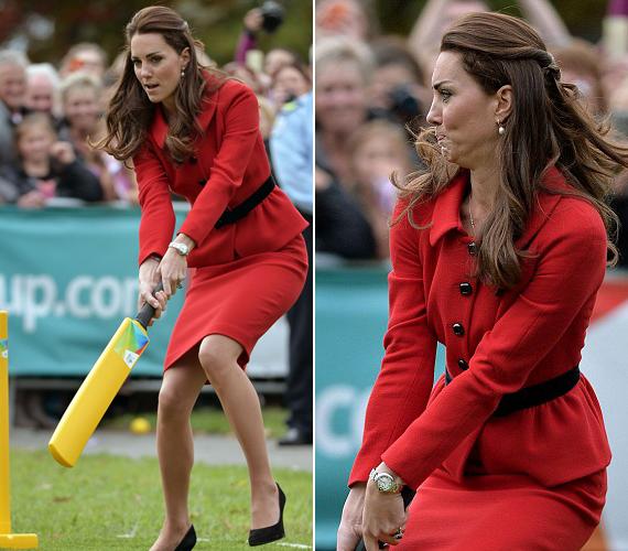 Katalin hercegnő nem az a karót nyelt főméltóság, ahogy azt a királyi családtagok többségétől megszoktuk, nincs ellenére a játék sem, ami közben pont olyan arcot vág, mint bármelyik hétköznapi ember.