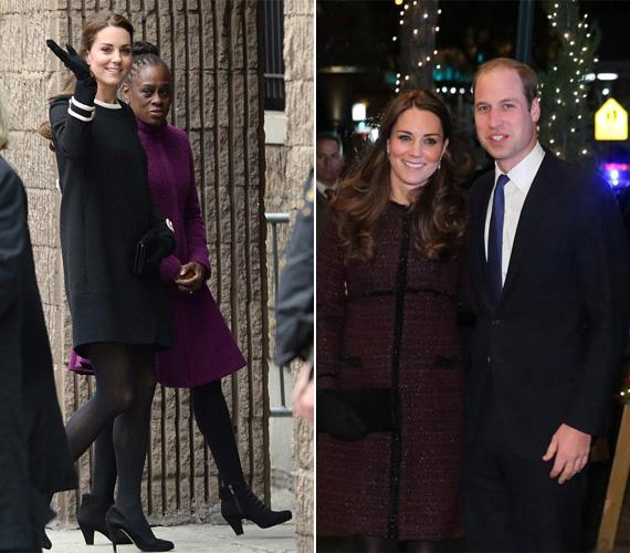Tavaly decemberben Vilmossal New Yorkban jártak: a fekete Goat kabátot akkor viselte, amikor a Harlembe látogatott. Amikor pedig Vilmossal kettesben indultak vacsorázni, egy bordó buklékabátot vett fel.