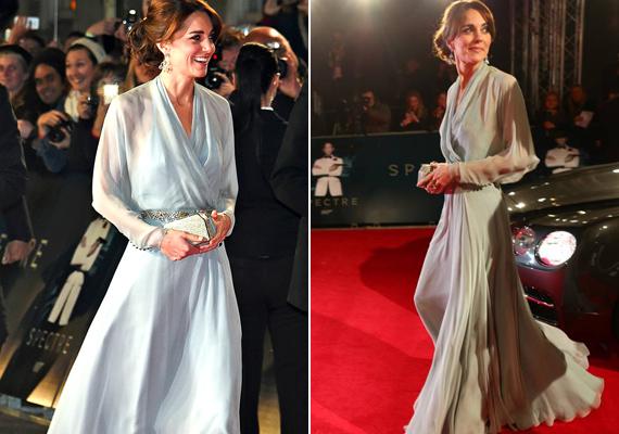 Mindenki Katalin csodaszép ruhájáról beszélt a premieren, annak átlátszó anyagára rögtön felfigyeltek.