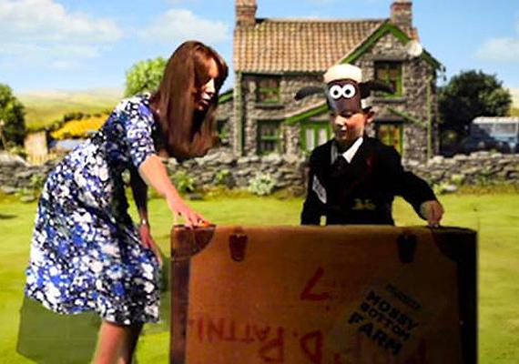 A Shaun, a bárány premierjén kipróbálhatta ő is színészi tehetségét egy rövid animációs film erejéig.
