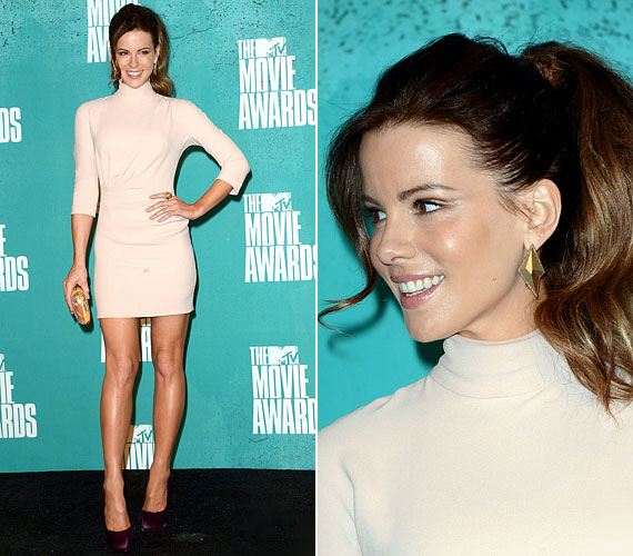 A 2012-es MTV Movie Awardson is nagy feltűnést keltett hosszú lábaival.