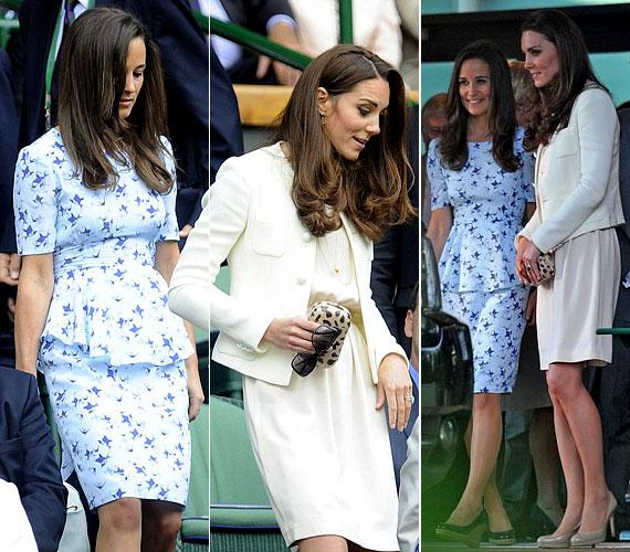 Katalin hercegné hozta szokásos formáját, húga ruhája azonban kevésbé szerencsés választás volt.