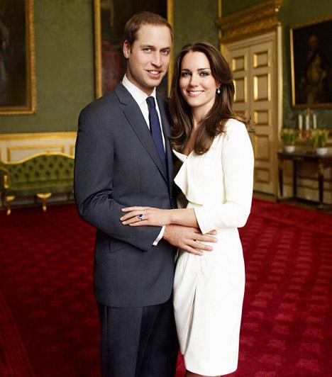 Hivatalos fotók  Vilmos herceg november 16-án jegyezte el kedvesét, ujjára Diana hercegnő egykori zafír- és gyémántköves gyűrűjét húzta. A hivatalos eljegyzési fotókat Mario Testino perui születésű fotográfus készítette.
