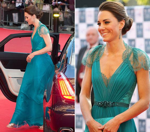 Nem csoda, hogy Katalin hercegnő ezúttal is a fotósok kedvence volt.