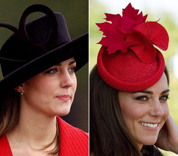 A szomorú tekintet és a konzervatív kalap már a múlté, manapság szívesen dobja fel öltözékét extravagáns kiegészítőkkel, mint ez a kis juharfaleveles kalap.
