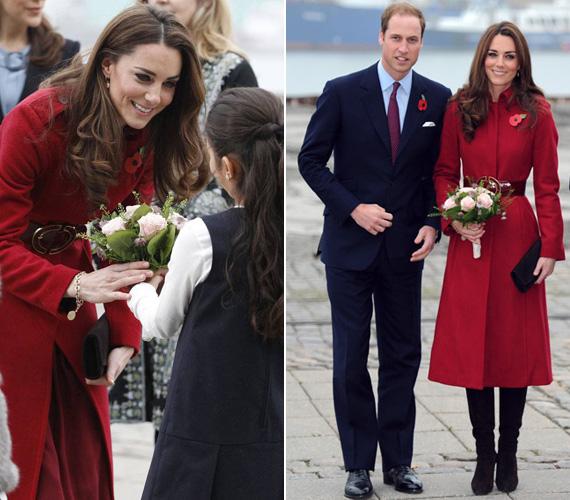 Katalin hercegnő a múlt év őszén mindenkit lehengerelt, amikor először mutatkozott be egy jótékonysági est háziasszonyként Vilmos herceggel Koppenhágában, az UNICEF központjában.