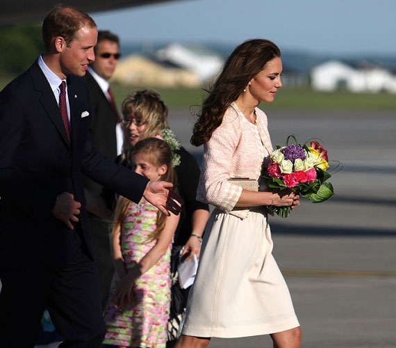 Katalin hercegnő természetes bája eddig mindenhol elbűvölte a kanadaiakat.