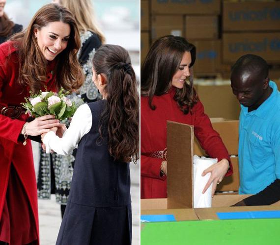 Mert szívvel-lélekkel jótékonykodik hercegnőként is. Már a mosolya is felér egy ajándékkal.