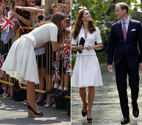 A hercegi páron meg sem látszott, hogy melegük van, pedig bizonyára szokatlan volt számukra az ázsiai klíma a hűvös londoni levegő után.