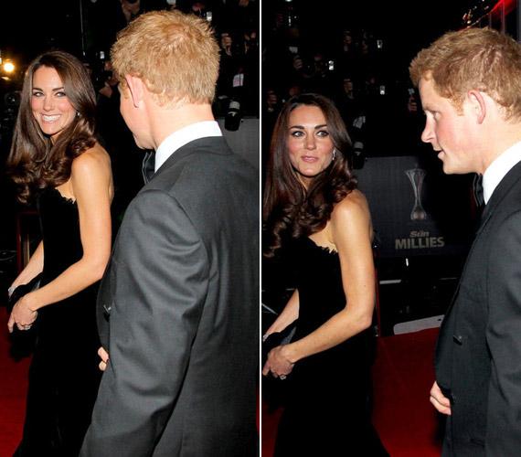 Harry hercegnek nem túl előnyös, ha profilból fotózzák.